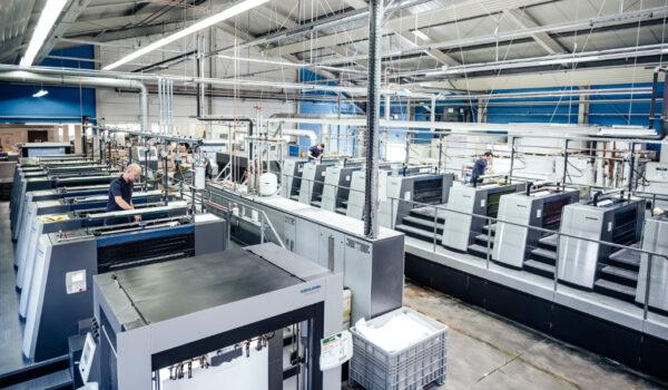 F&W Druck und Mediencenter Produktion Offsetdruck