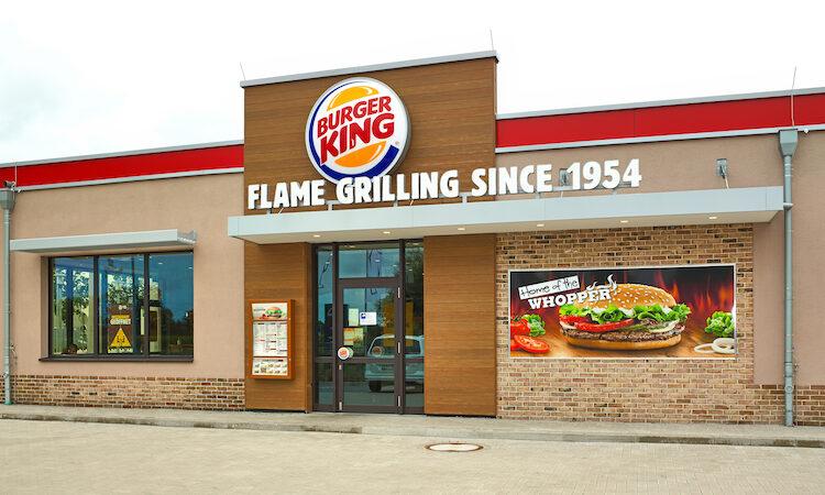Nüssler Werbung Außenwerbung Burger King© Franz Frieling