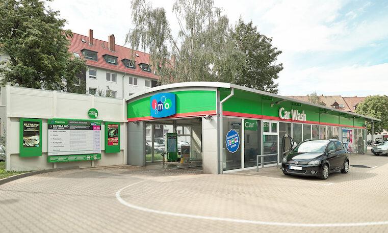 Nüssler Werbung Außenwerbung imo Car Wash© Franz Frieling