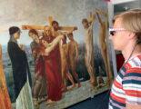 Augmented Reality Großformatdruck Mimaki die Kreuzigung Christi Kunstprojekt