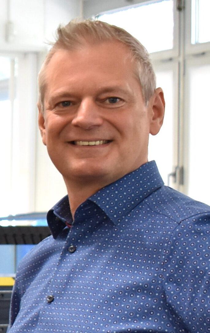 Christian Denzer, Geschäftsführer der Reproplan Hamburg GmbH
