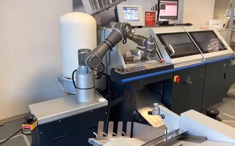 Horizon Finishing First Horizon Roboterarm Screenshot 1