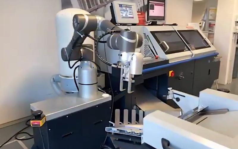 Horizon Finishing First Horizon Roboterarm Screenshot 2