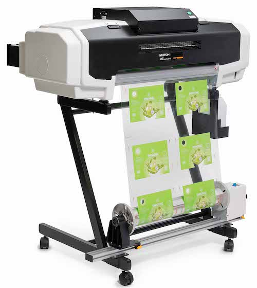 Mutoh Valuejet für Direct-to-Substrate-Proofing Shrink Sleeves