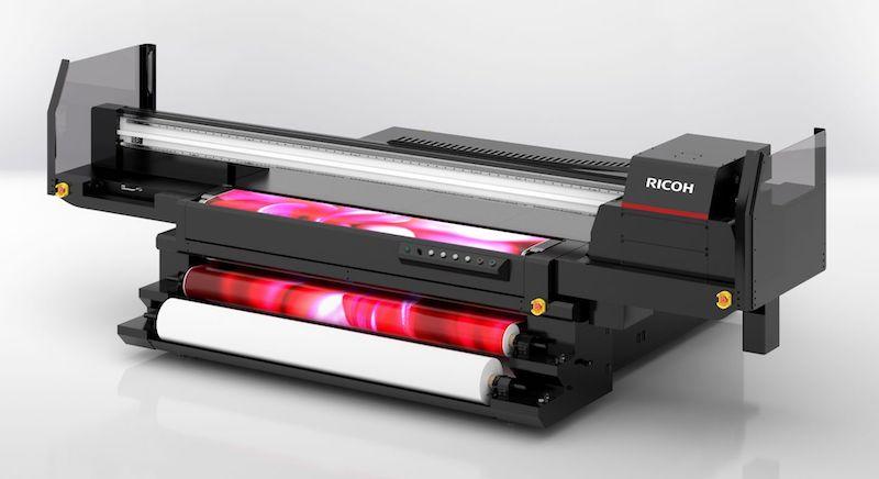 Ricoh Pro TF6251 UV-Flachbettdrucker Hybriddrucker Inkjet