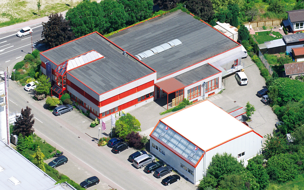 Schaa GmbH Luftaufnahme Schaa GmbH