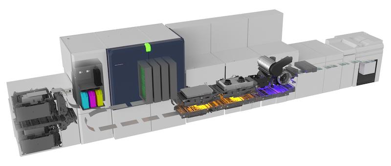 Xerox Color Accelerator for Xerox Baltoro HF inside view