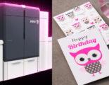 Xerox Iridesse fluoreszierendes Pink