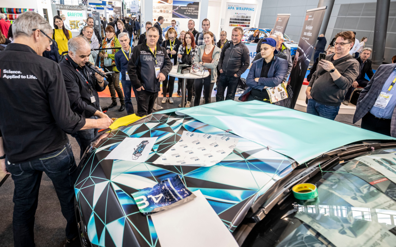 Carwrapping Expo 4.0 wetec