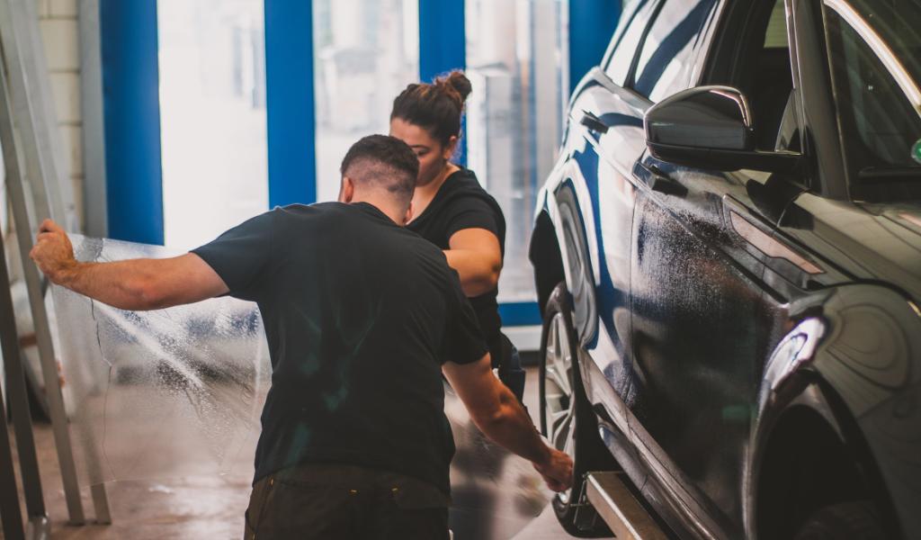 GK Werbetechnik Fahrzeugfolierung