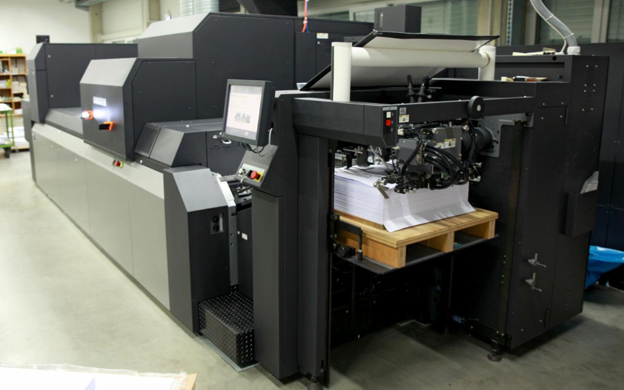 Grafische Werkstätte BruderhausDiakonie Jet Press 750S