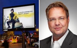 Kai-Marcus Thaesler Hauptgeschaeftsfuehrer FAW Aussenwerbung Out