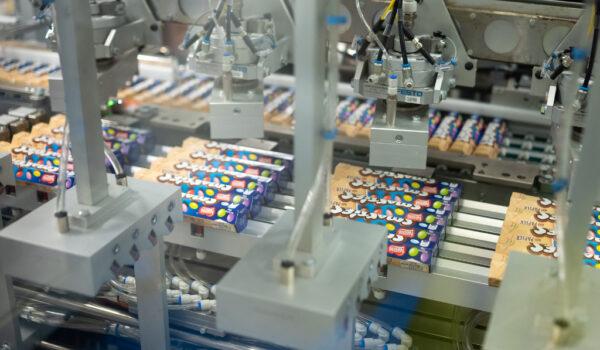 Nestle Smarties Papierverpackung