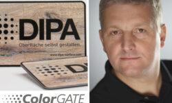 Colorgate Oliver Guth und Beitritt zur DIPA