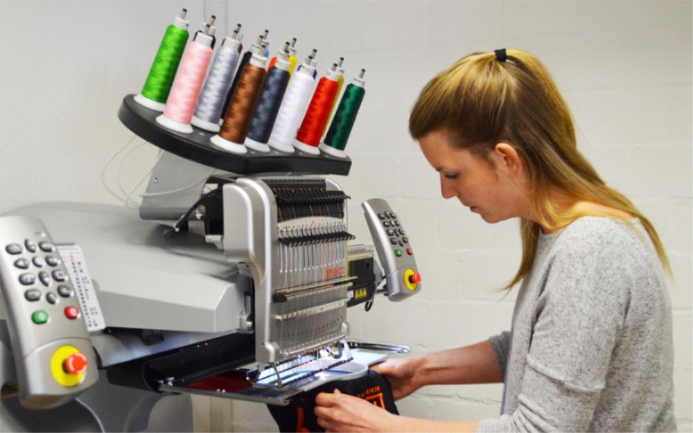 Mediahouse Carina Rasmussen Stickmaschine