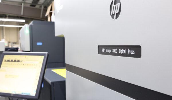 etikett.de Produktion HP Indigo