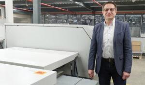 Onlineprinters Kodak CTP Plattenbelichtung COO Jürgen Winkler