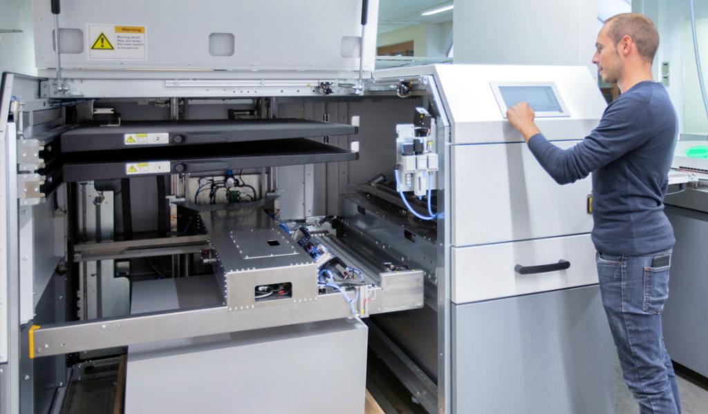 Onlineprinters Kodak CTP Plattenbelichtung Einzelpalettenlader