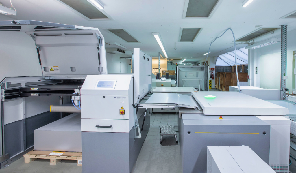 Onlineprinters Kodak CTP Plattenbelichtung Magnus Q800