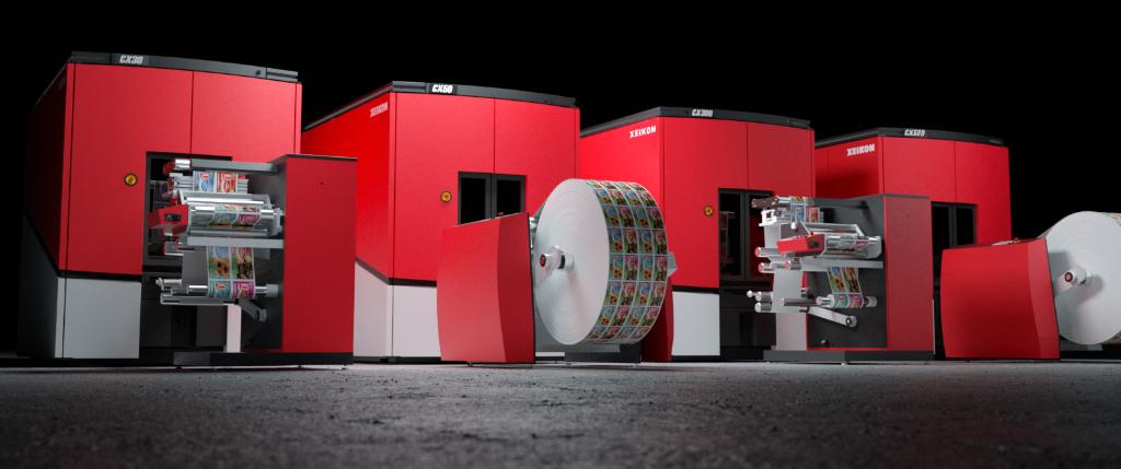 Xeikon Etikettendruckmaschinen