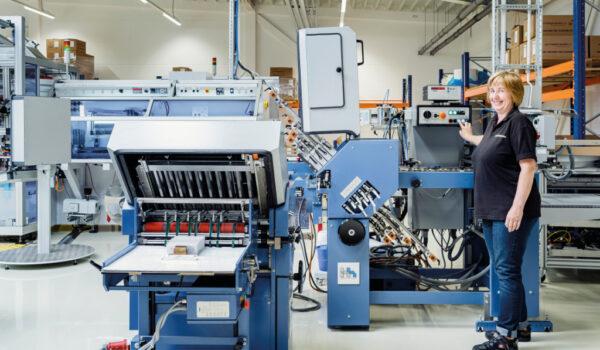 labelprint24 Produktion Weiterverarbeitung