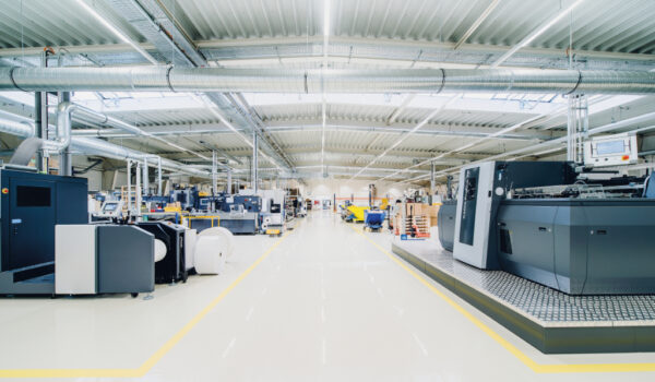labelprint24 Produktion in Zeithain
