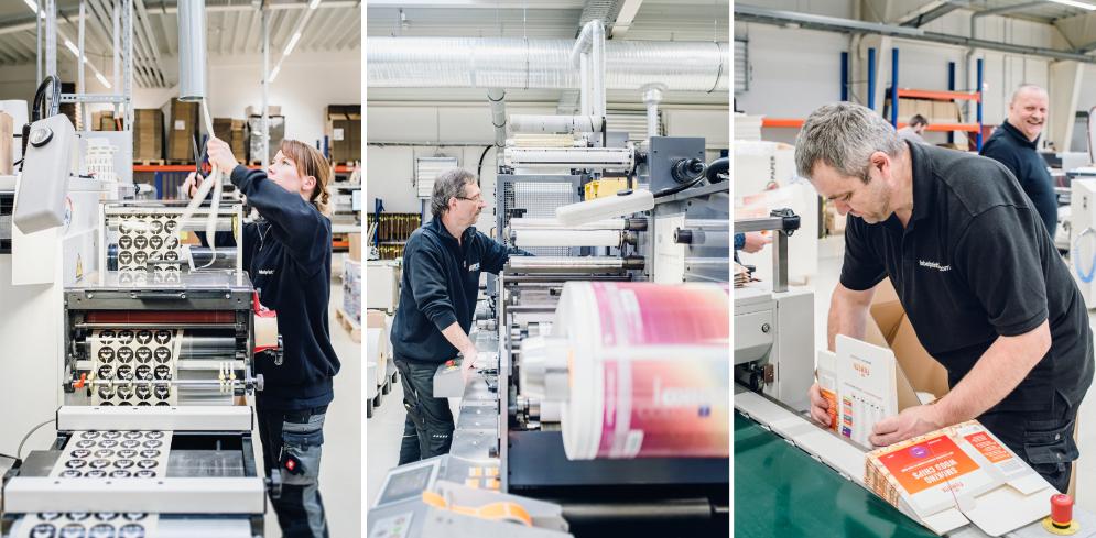 labelprint24 Produktions-Trio