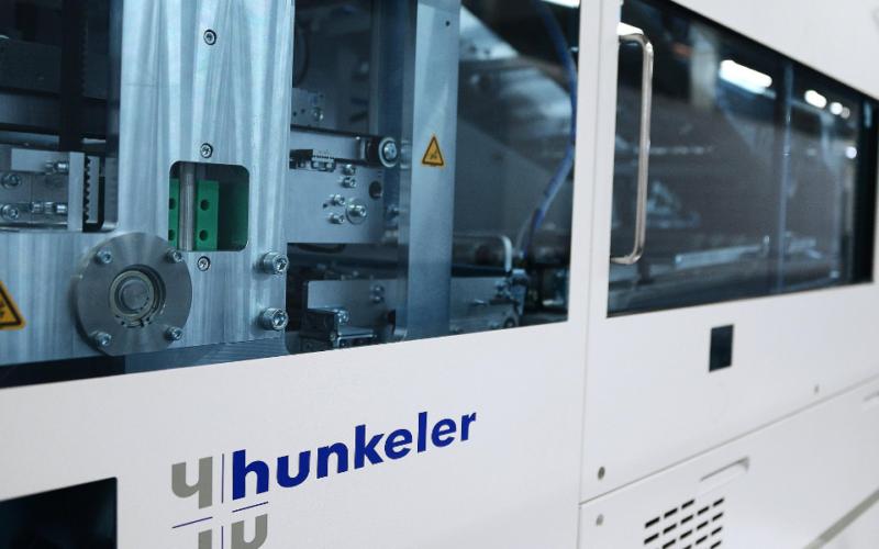 Eberl&Koesel BookFlow Weiterverarbeitungslinie PF7 Hunkeler