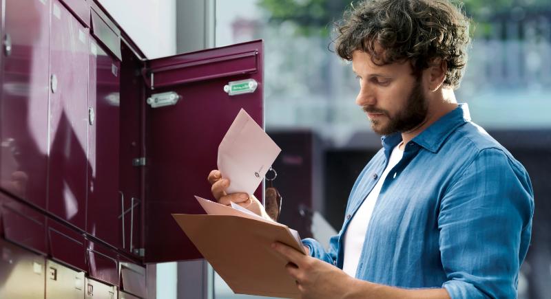 CMC Print-Mailing-Studie 2021 teil- und volladressierte Werbesendungen NL