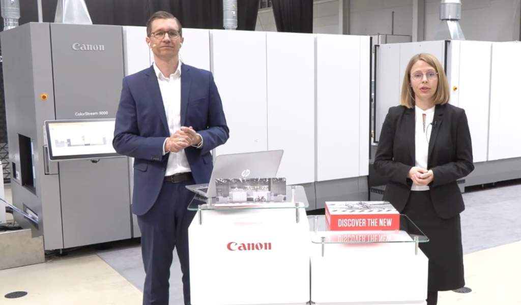 Canon Colorstream 8000 Johann Schmidbauer und Cindy Schramm 2