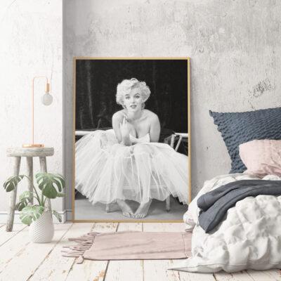 Posterlounge 52-celebrity-collection-722843-premium-poster-gerahmt-LOFT-natur-70x100cm