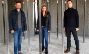 Posterlounge Falk Teßmer Mandy Reinmuth Florian Teßmer Neubau-Baustelle