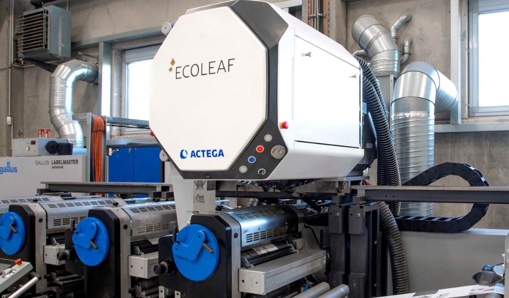 Actega Metal Print EcoLeaf Druckveredelung Metallisierung