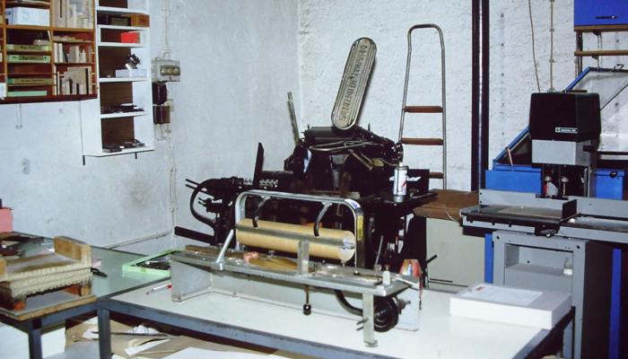 Druckerei Zabel 1985