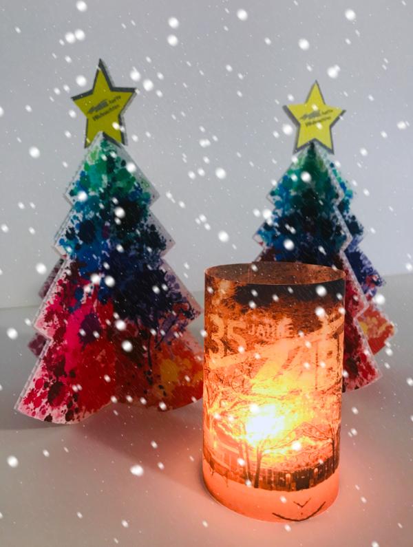 Druckerei Zabel Weihnachtsbaum