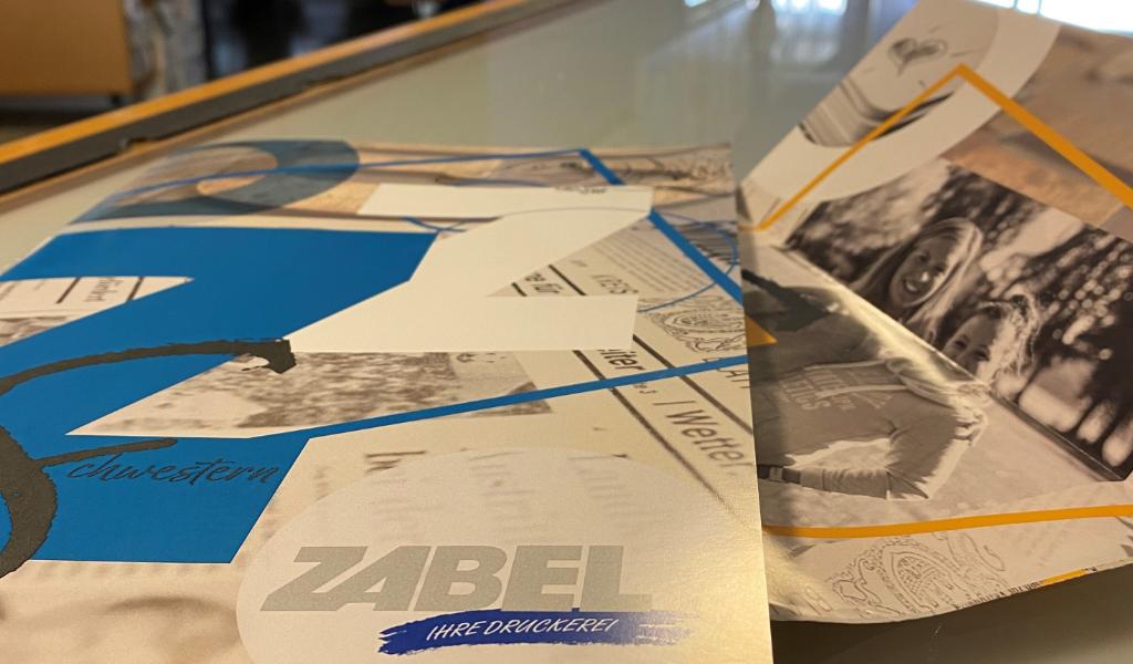 Druckerei Zabel neue Image-Broschüre