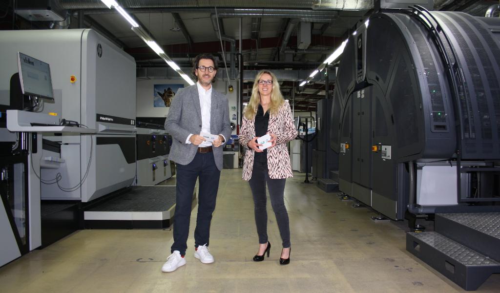 Esser HP Markus Weiß Diana Esser zwei neue Maschinen
