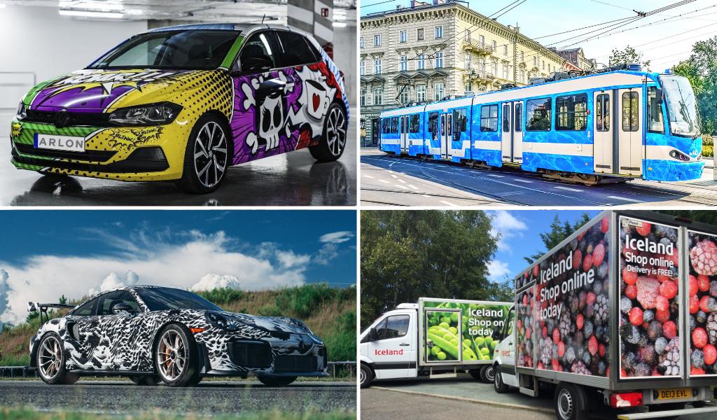 Antalis Arlon Graphics Fahrzeugfolien Vertriebspartnerschaft