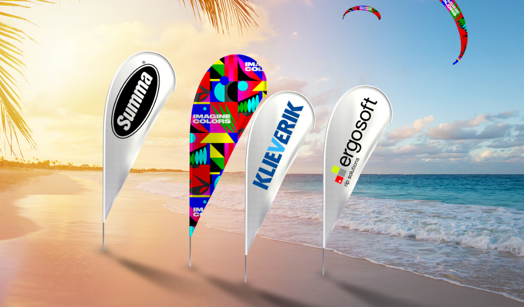 HP Soft Signage Beachflags